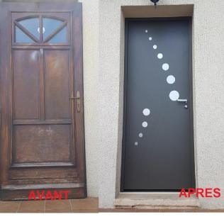 Porte Pavillonnaire Blindé